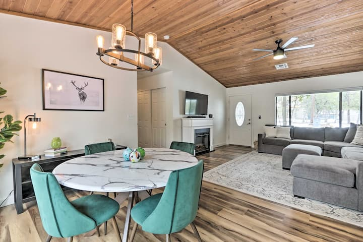 NEW! Pine Mtn Home ~ 8 Mi to State Park + Trails!
