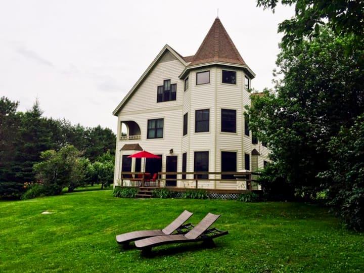 Lake Champlain lakefront house