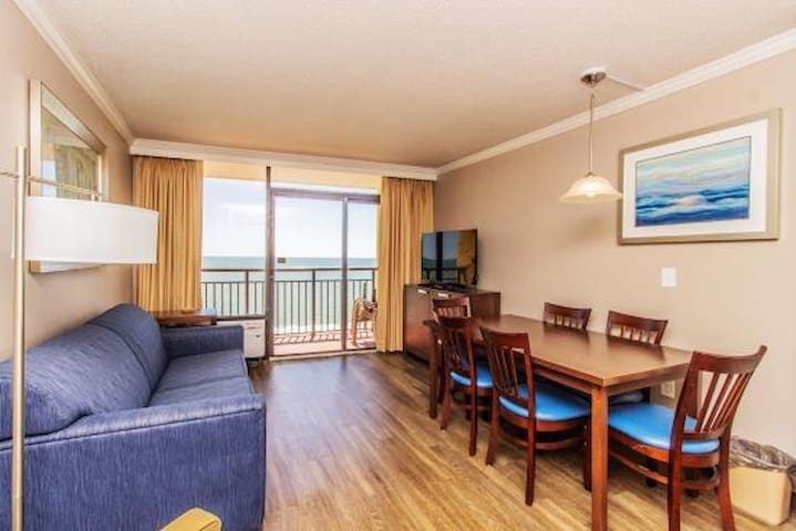 Oceanfront King Suite at The Caravelle Resort 1244