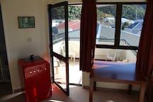 Access to balcony