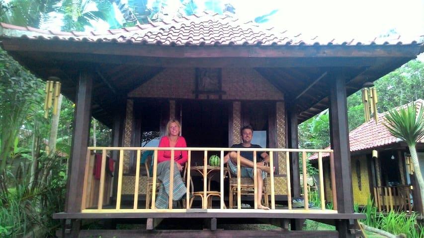 Tetebatu Garden Cottage #1 - jl.pariwisata kec sikur, tetebatu - Bungalow