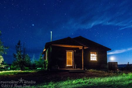 Cabin on a Working Cattle Ranch