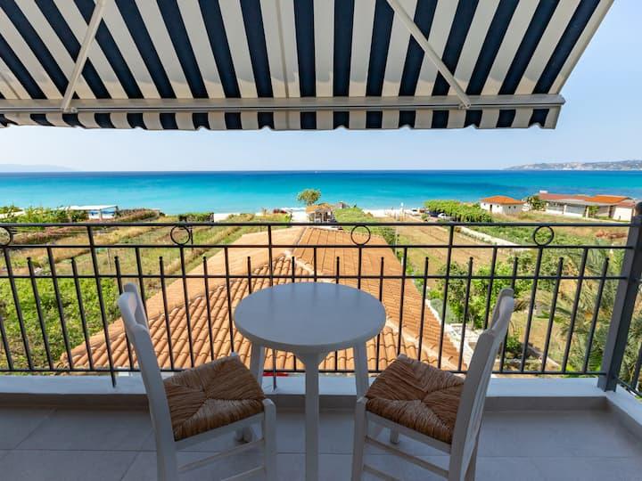 Lourdas|Superior Aprt | Panoramic Sea View [40 m²]
