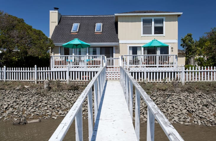 Waterfront Home, minutes to S.F. - Larkspur - House