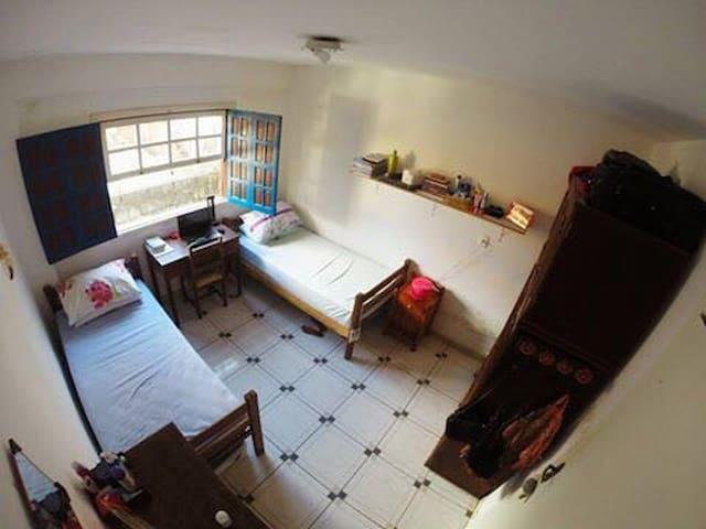 Quarto duplo em RepúblicaEstudantil - Ouro Preto - House