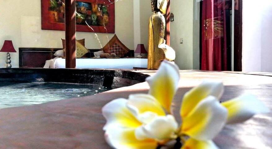 One Bedroom villa with jacuzzi - Gili Trawangan - Apartament