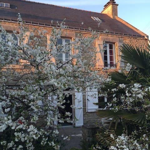 Maison ancienne au confort moderne - Larmor-Baden - Ev