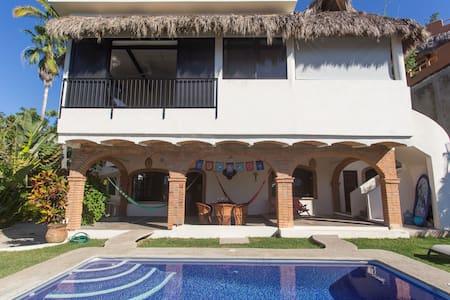 Casa Tecolote - ocean views - heated pool