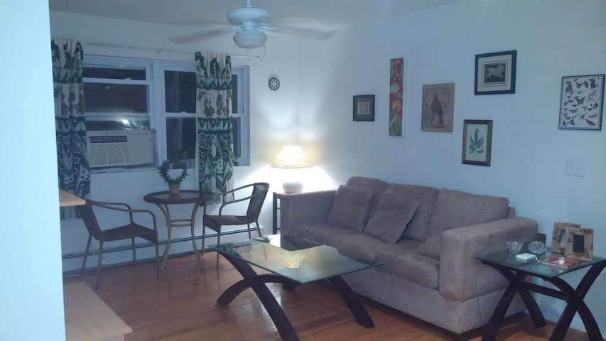 Bright cheery oceanside apartment - Long Branch - Apartemen