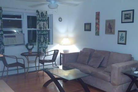 Bright cheery oceanside apartment - Long Branch