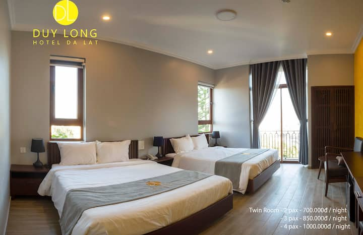 Duy Long hotel - Deluxe Twin Room 1