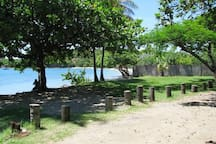 The beach and park area, just 100 steps from your door!