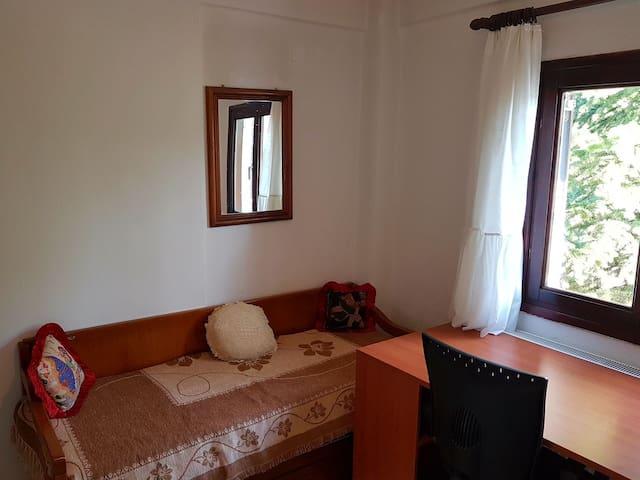 Υπνοδωμάτιο 2 - Καναπές - τραπέζι εργασίας