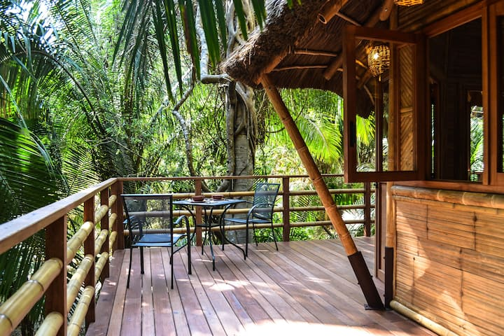 Aldea Bamboo Village I Ecolodge in Jungle & Beach