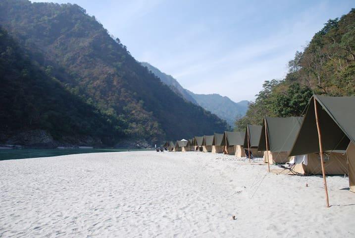 Red Chilli Beach Camp - Byasi - Tenda