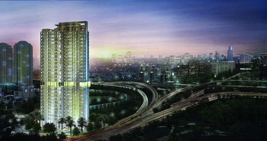 GREAT LOCATION! LUXURY CITY STUDIO - Grogol, jakarta barat ( samping Mall Taman Anggrek)  - Appartement