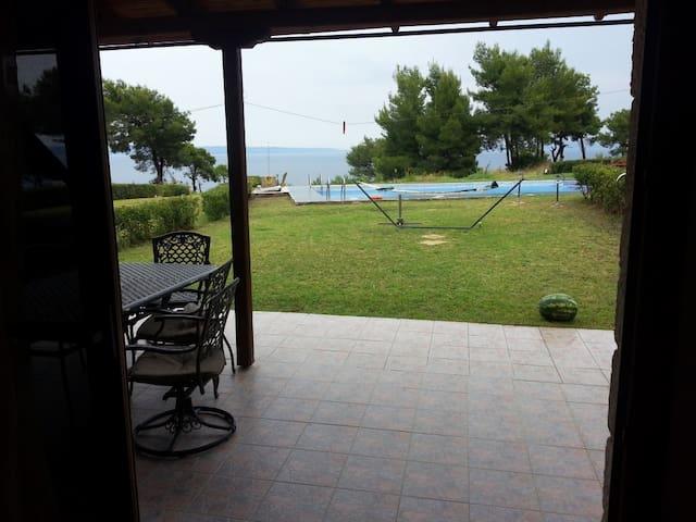 AFYTOS OCEAN FRONT HOME - Afytos - House