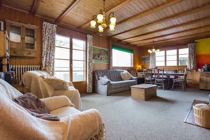 Lovely 3 bed room in trad chalet - Gryon