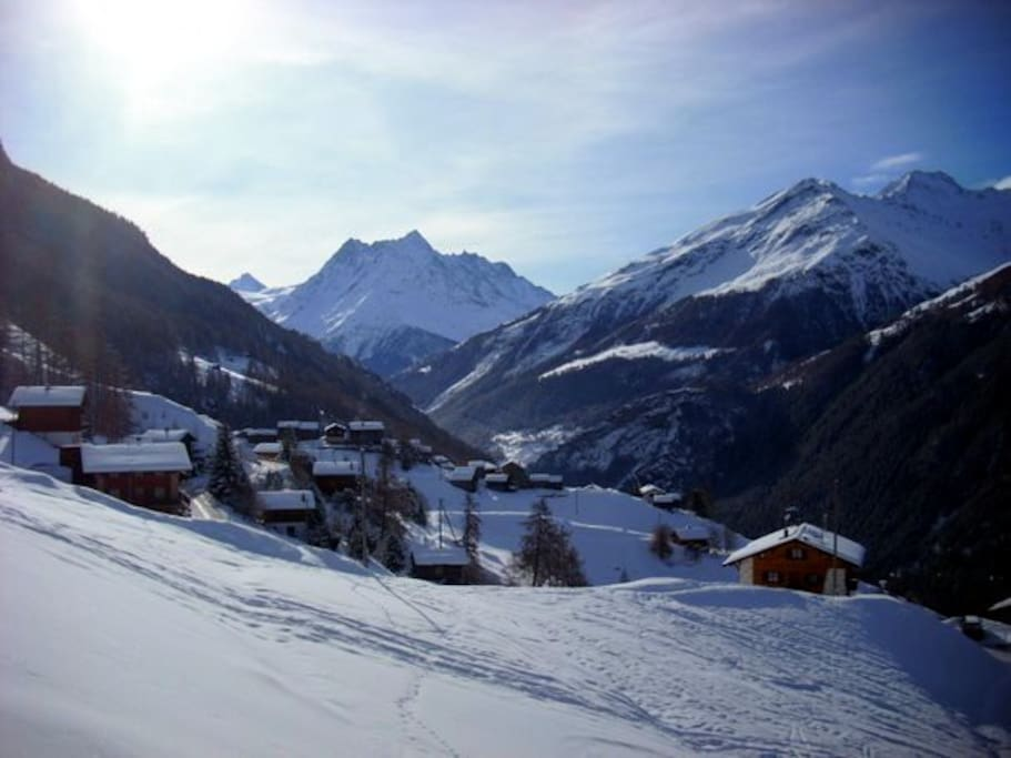 View on Eison in  Winter