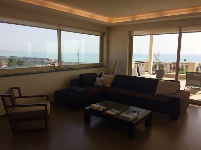 Splendide penthouse et vue sur mer - Sciacca - Apartment