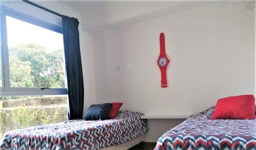 Acogedora habitación secundaria