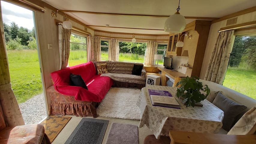 Inverness private, secluded caravan