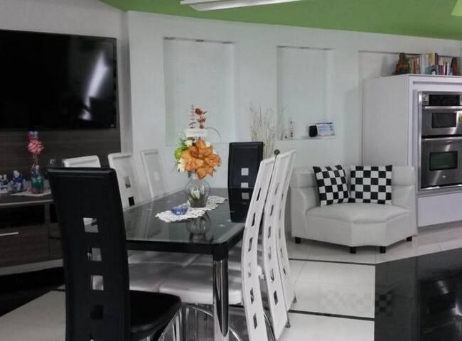 Confortable casa con confort y lujo