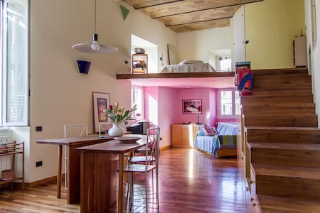 Design Loft with Lovely Terrace - Rome - Apartment