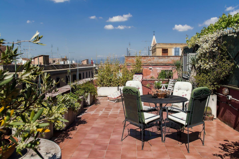 Design Loft with Lovely Terrace