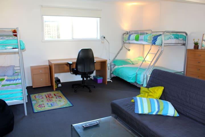 Downstairs Rumpus/Bedroom
