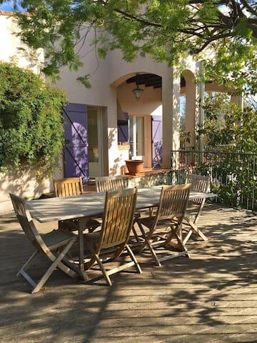 Maison avec piscine , havre de paix - Le Rouret - บ้าน