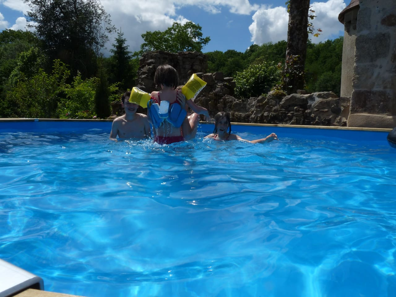 Your own heated swimming pool