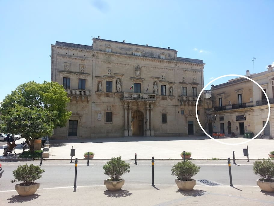 Palazzo melissano historic palazzo houses for rent in for Albanese arredamenti san cesario lecce