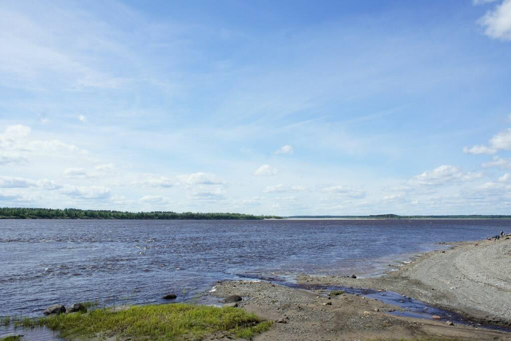 ручей и Северная Двина