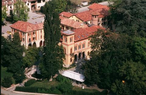 Villa Scati Bed and Breakfast pokój z ogrodem