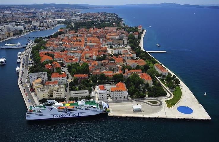 Zadar central, big private room, ideal location - ซาดาร์ - ที่พักพร้อมอาหารเช้า