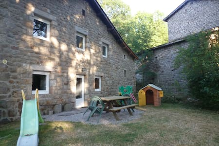 Gite du Moulin Blanc - Saint-Romain-Lachalm - House
