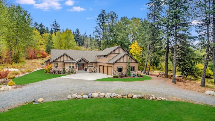 Exceptional Private Mountain Home_Htd Game Room_Hot Tub_3rd Nt FREE