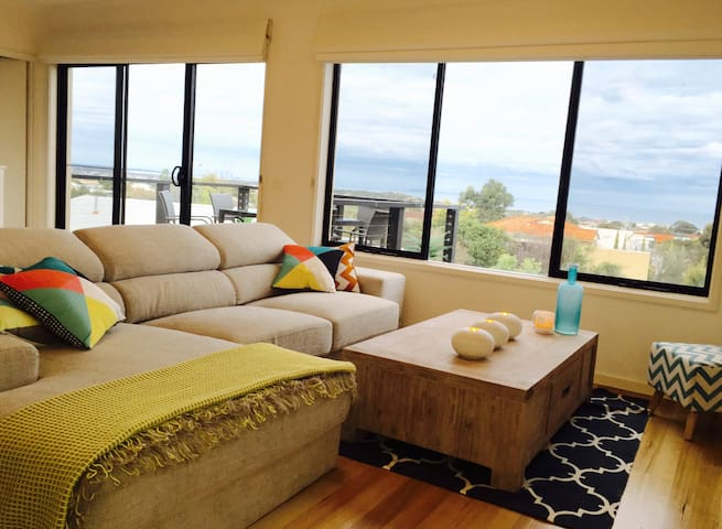 Beach apartment with ocean views - Torquay - Pis