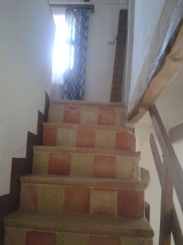 Un escalier typiquement mallorquin.