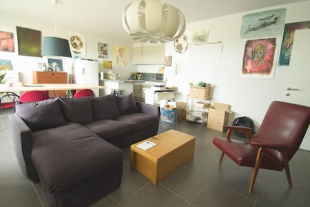 Bright apartment near the river - Gent