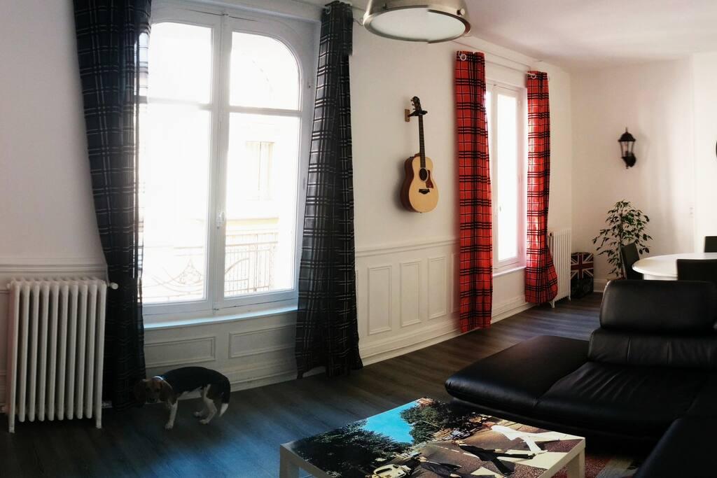 1 chambre t4 100m centre ville appartements louer vichy auvergne france. Black Bedroom Furniture Sets. Home Design Ideas