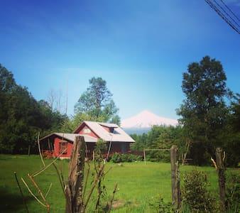 Hermosa parcela para hospedaje de aventureros - Licanray - 自然小屋