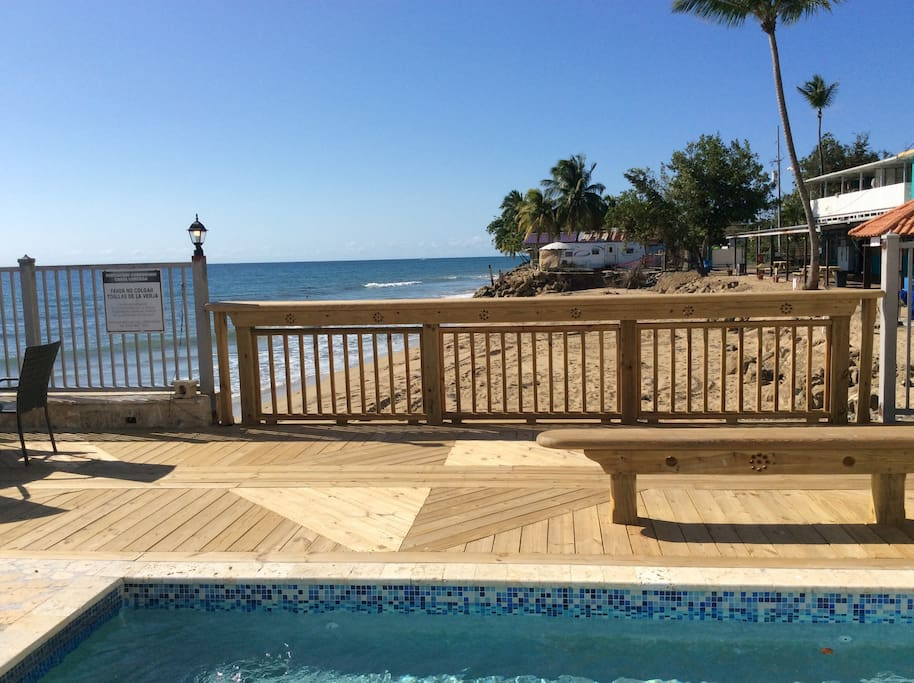 New Pool Deck view!