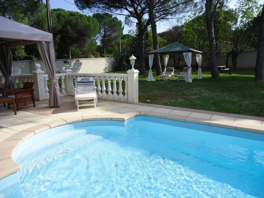 Pool shared with owners accommodation