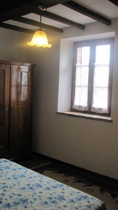 Camera da letto al 1' piano.