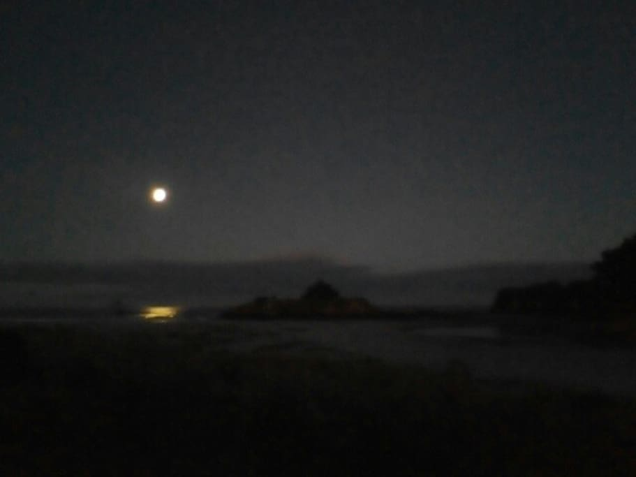 Take a moonlit stroll along the beach