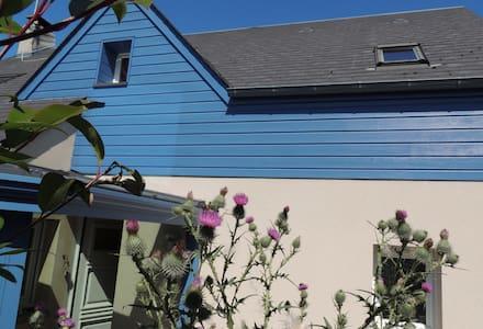 La maison bleue du vallon - Donville-les-Bains - Casa