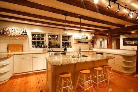 1835 Farmhouse w. Lake/MTN Views! - Grand Isle - House - 2
