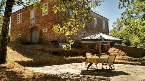 Casa tradicional en O Incio